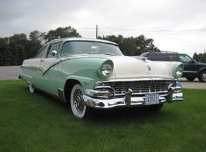 1956 Ford Crown Victoria Glass Top 1