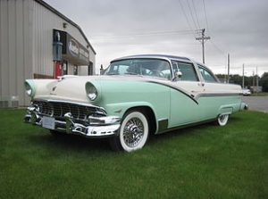 1956 Ford Crown Victoria Glass Top 2