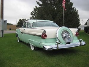1956 Ford Crown Victoria Glass Top 4