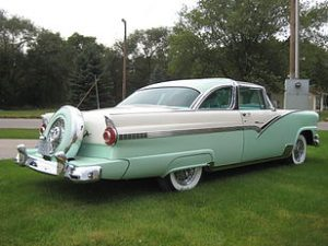 1956 Ford Crown Victoria Glass Top 5