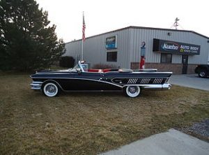 1958 Buick Series 700 Limited Convertible 4